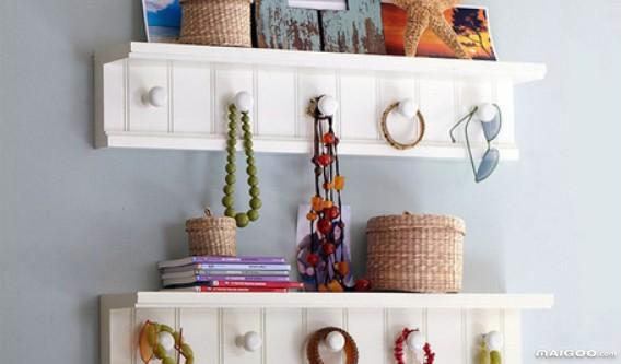 生活百科--教你如何废物利用diy墙壁挂衣架