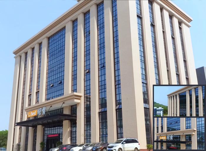 晾霸公司办公大楼