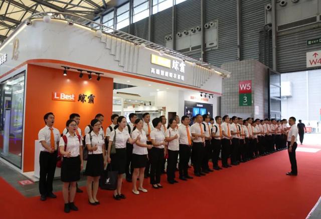 晾霸参展2018上海卫浴展