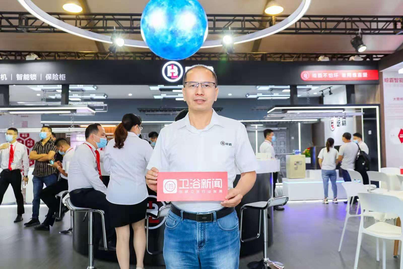 展会第一天 亮剑2021上海厨卫展,晾霸人气爆棚!