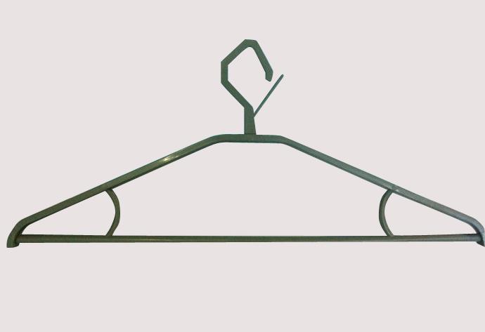 银灰塑料衣架