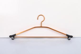 金色铝合金多功能衣架