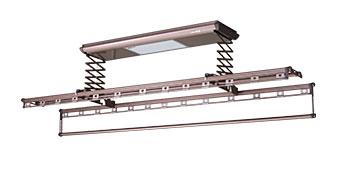 小芯杆 M03-1204C4P-22带阳台灯的电动晾衣机