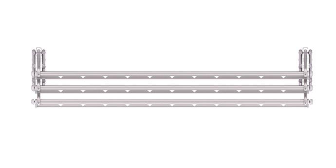 外飘伸缩折叠户外晾衣架-M1